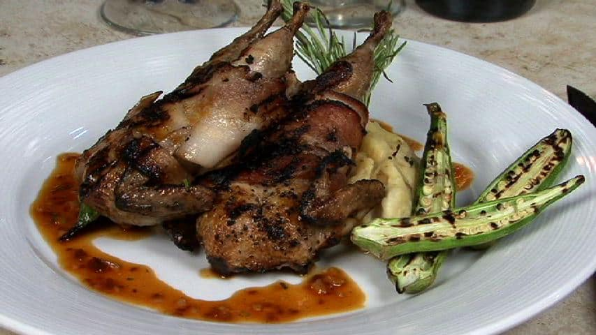 Cotton Gin Quail - Grilled Quail done Hill Country Style