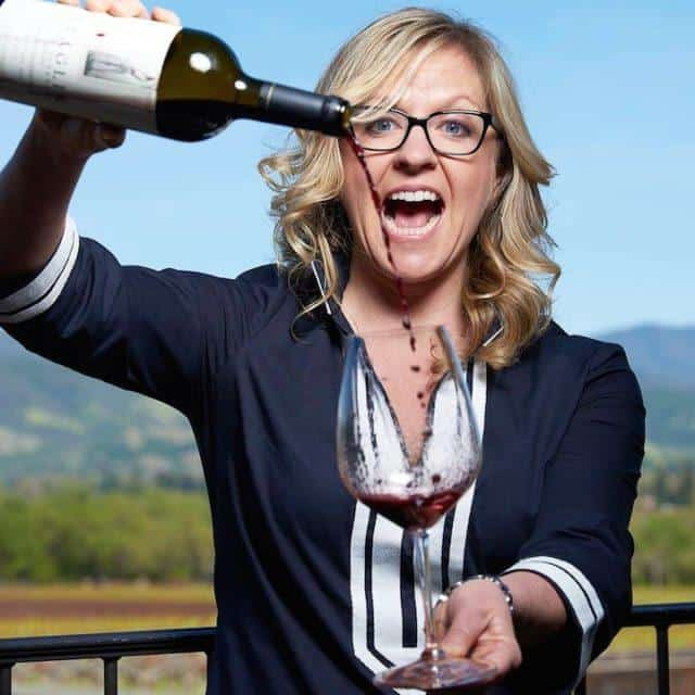 Sommelier Amber Mihna