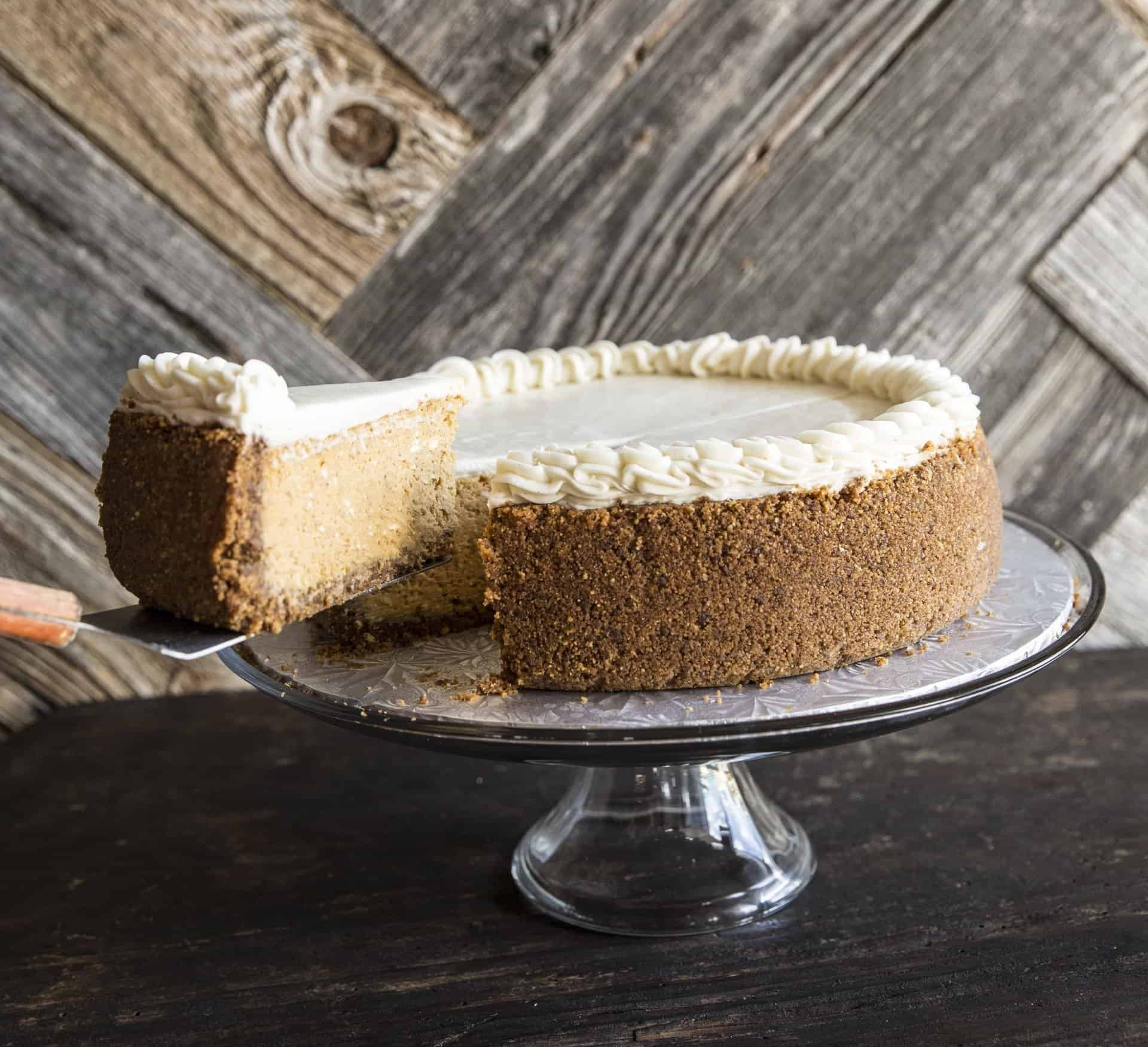 Petite Sweets' Pumpkin Cheesecake