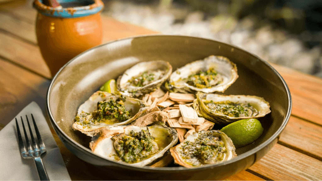 Oysters 1024x576 - Calle Onze's Ostiones Asados (Chargrilled Oysters)