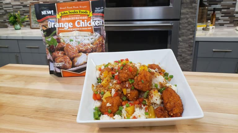 image5 1 768x432 - S6E9 -John Soules Food Orange Chicken and Pineapple Fried Rice Video